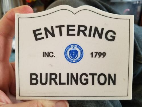 Burlington Sign